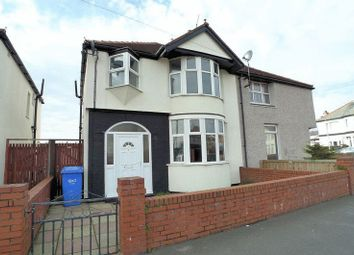Thumbnail 3 bed semi-detached house for sale in Barry Road South, Rhyl
