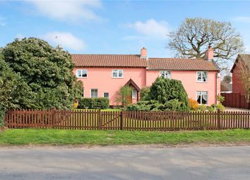 Thumbnail 5 bed detached house for sale in Hall Road, Framingham Earl, Norwich, Norfolk