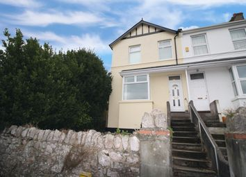Thumbnail 4 bedroom end terrace house to rent in Hill Park Road, Torquay