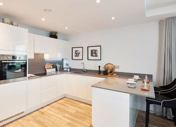 Thumbnail 2 bed flat for sale in York Road, Battersea, London