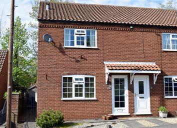 Thumbnail 2 bed town house for sale in Nettleton Road, Caistor, Market Rasen