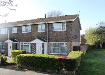 Thumbnail 3 bed end terrace house for sale in Gainsborough Crescent, Eastbourne