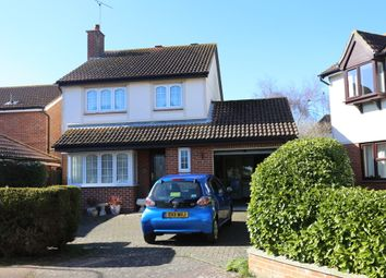 Thumbnail 4 bed detached house for sale in Keswick Close, Old Felixstowe, Felixstowe
