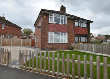 Thumbnail 2 bedroom semi-detached house for sale in Carlisle Avenue, Littleover, Derby