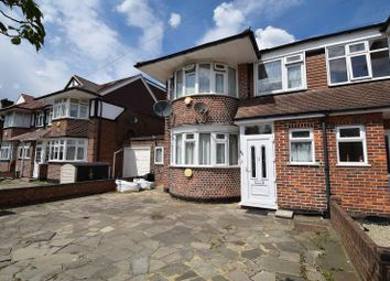 Thumbnail 5 bedroom semi-detached house to rent in Cannonbury Avenue, Pinner, Middlesex