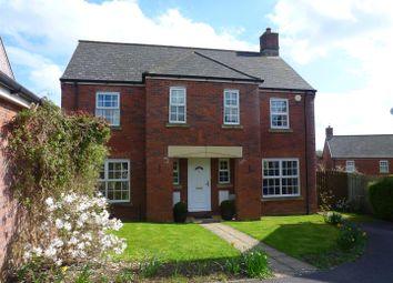 Thumbnail 4 bedroom detached house for sale in Lacock Gardens, Hilperton, Trowbridge