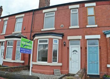 Thumbnail 2 bed terraced house to rent in Knutsford Road, Latchford, Warrington