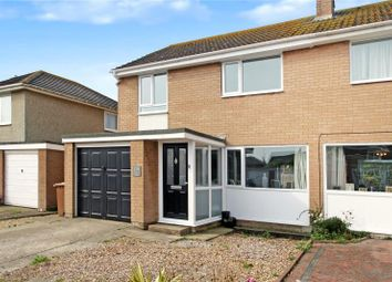 Thumbnail 3 bed semi-detached house for sale in Mallon Dene, Rustington, Littlehampton