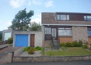 Thumbnail 2 bedroom semi-detached house to rent in Scotland Drive, Dunfermline