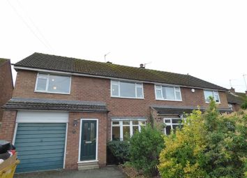 Thumbnail 4 bed semi-detached house to rent in Albert Road, Macclesfield, Cheshire