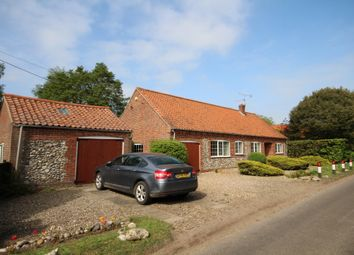 Thumbnail 3 bedroom detached bungalow for sale in Langham Road, Binham, Fakenham
