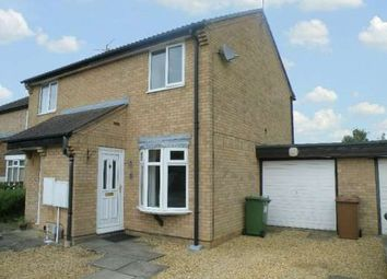 Thumbnail 2 bed semi-detached house to rent in Uldale Way, Gunthorpe, Peterborough