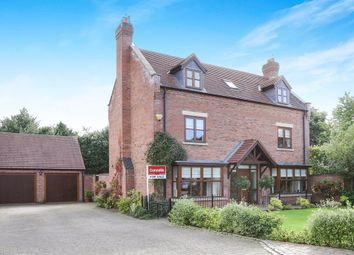Thumbnail 6 bedroom detached house for sale in Fair View Court, Wheaton Aston, Stafford