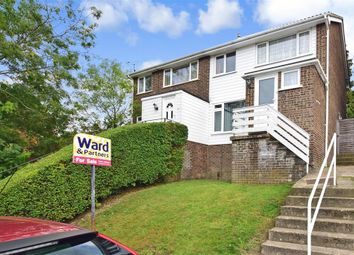 Thumbnail 3 bed semi-detached house for sale in Hillborough Grove, Walderslade, Chatham, Kent
