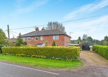 Thumbnail 4 bed semi-detached house for sale in Draw Dyke, Sutton St. James, Spalding