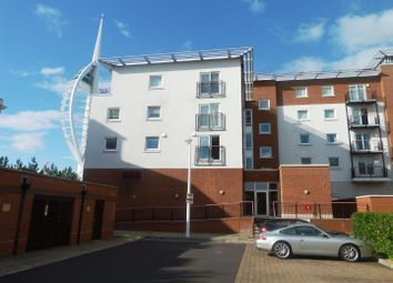 Thumbnail 2 bedroom flat for sale in Anson Court, Gunwharf Quays, Portsmouth