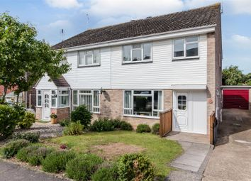 Thumbnail 3 bed semi-detached house for sale in Peregrine Drive, Tile Kiln, Chelmsford