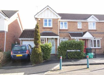 Thumbnail 3 bed end terrace house for sale in Church Farm Road, Emersosn Green, Bristol