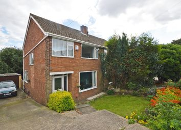 Thumbnail 3 bed semi-detached house for sale in Manor Rise, Walton, Wakefield