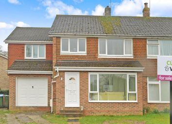 Thumbnail 5 bedroom semi-detached house for sale in Maple Close, Horsham, West Sussex