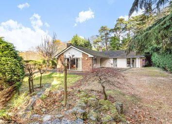 Thumbnail 3 bed detached bungalow for sale in Lodge Hill Road, Lower Bourne, Farnham, Surrey