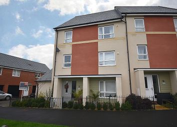 Thumbnail 4 bed end terrace house for sale in Burrough Fields, Cranbrook, Near Exeter