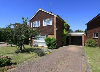 Thumbnail 4 bed detached house for sale in Farringford Close, Chiswell Green, St. Albans, Hertfordshire