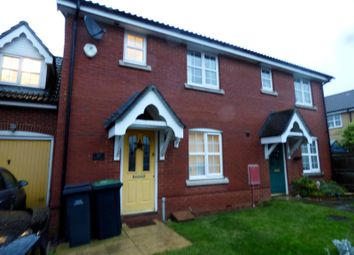 Thumbnail 3 bed semi-detached house to rent in Blackbird Way, Stowmarket