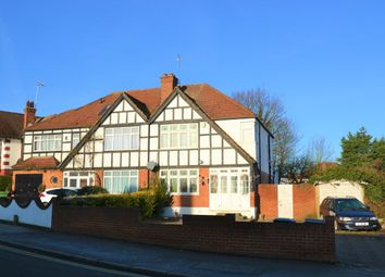 Thumbnail 3 bedroom semi-detached house for sale in Oldborough Road, North Wembley
