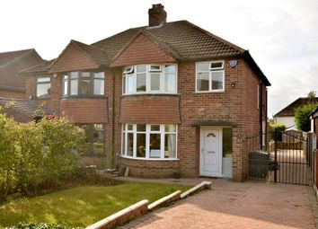Thumbnail 3 bed semi-detached house for sale in Meadow Way, Alwoodley, Leeds