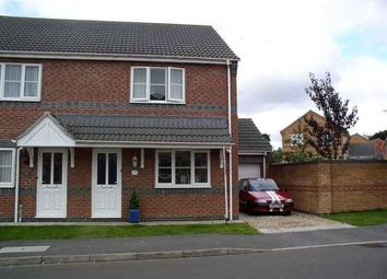 Thumbnail 3 bed semi-detached house to rent in Lady Meers Road, Cherry Willingham, Lincoln