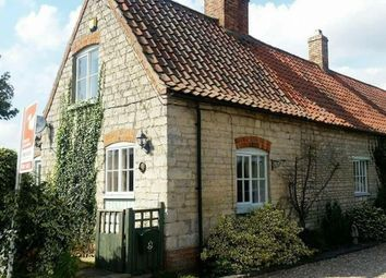 Thumbnail 2 bed cottage for sale in Main Street, Kirkby Green, Lincoln