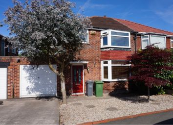 Thumbnail 3 bed semi-detached house for sale in Morningside Drive, East Didsbury