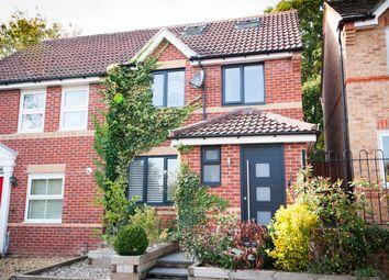 Thumbnail Semi-detached house for sale in Edgehill Close, Newbury