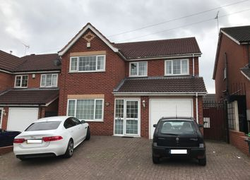 Thumbnail 5 bed detached house for sale in Devonshire Road, Smethwick