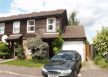 Thumbnail 3 bed end terrace house for sale in Walker Close, Hampton