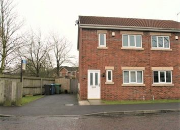 Thumbnail 3 bed semi-detached house to rent in Perth Close, Cinnamon Brow, Warrington