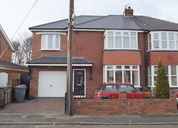 Thumbnail 4 bed semi-detached house for sale in Leesfield Road, Meadowfield, Durham