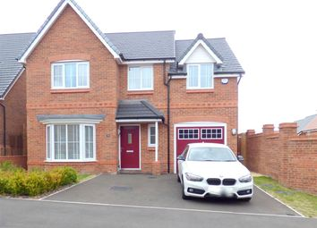 Thumbnail 4 bed detached house for sale in Bolton Hey, Huyton, Liverpool