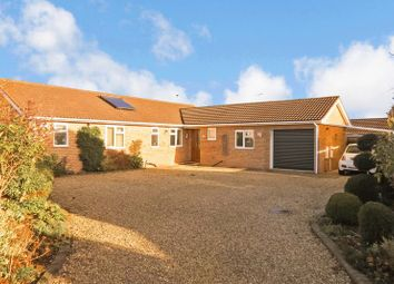 Thumbnail 4 bed detached bungalow for sale in Willow Drive, Bourne