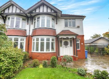 Thumbnail 4 bed semi-detached house for sale in Bridge Lane, Bramhall, Stockport