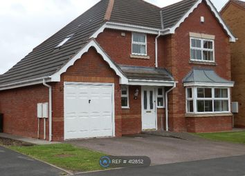 Thumbnail 4 bed detached house to rent in Ascot Drive, Tamworth