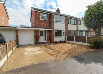 Thumbnail 3 bed semi-detached house for sale in Pingate Lane, Cheadle Hulme, Cheadle
