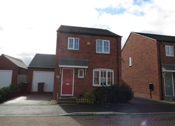 Thumbnail 3 bed detached house for sale in Yeats Drive, Warwick