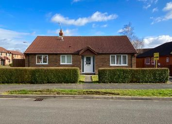 Thumbnail 2 bed detached bungalow for sale in Plover Road, Essendine, Stamford