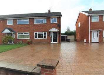 Thumbnail 3 bed semi-detached house for sale in Cae Gabriel, Pen-Y-Cae, Wrexham