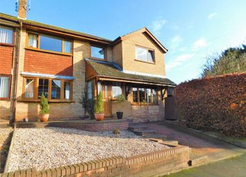 Thumbnail 4 bed semi-detached house for sale in Elm Close, Great Haywood, Stafford.