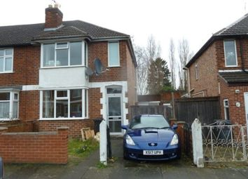Thumbnail 2 bed semi-detached house to rent in Totland Road, Leicester