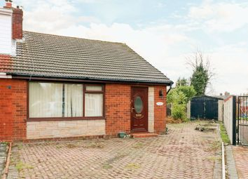Thumbnail 2 bed semi-detached bungalow for sale in Ilkley Close, Tonge Fold, Bolton