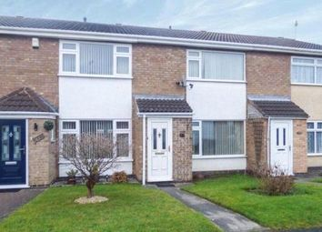 Thumbnail 2 bed terraced house for sale in Ash Drive, Syston, Leicestershire
